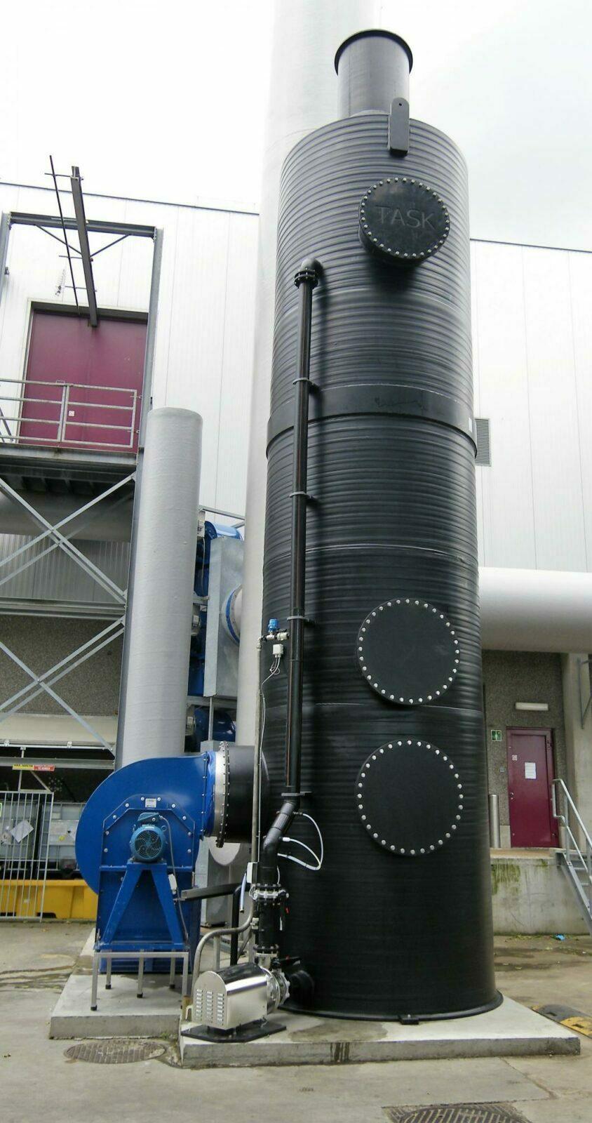 Oxidatieve luchtwasser Comeco meer