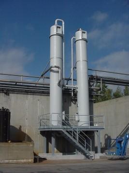 gaswasser luchtzuivering