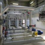 Warmtewisselaars slib water