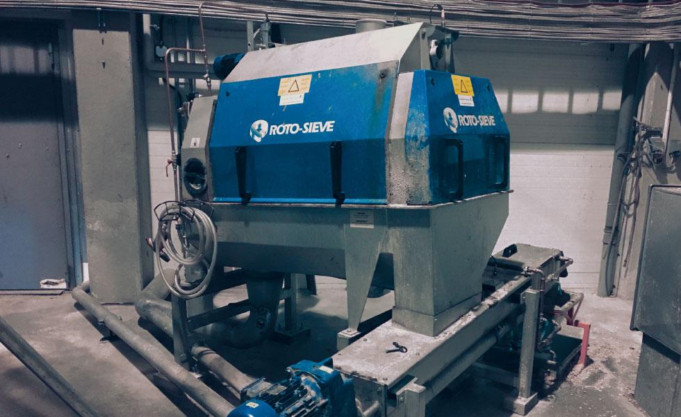 Roto-SIeve Lulea Sweden Bioenergy